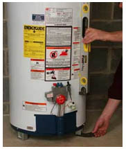Установка водонагревателя дома
