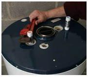 Установка водонагревателя для дома